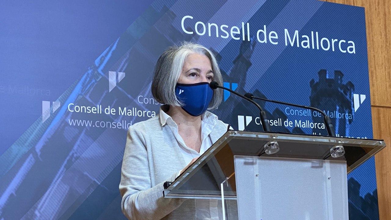 La consellera de Presidència, Teresa Suárez