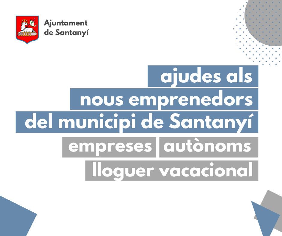 Ajuts Emprenedoria Santanyí