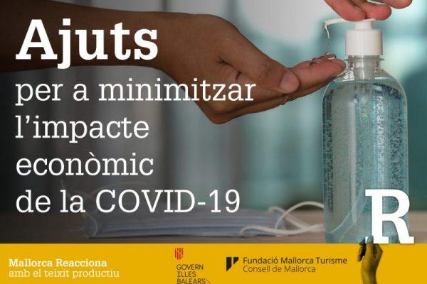 Ajuts per a minimitzar l'impacte econòmic de la COVID-19