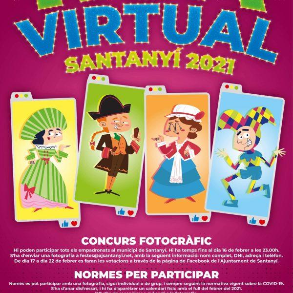 Cartel Rua Virtual Santanyí 2021